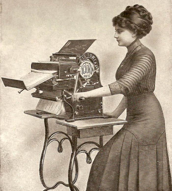 Life is a copy machine.